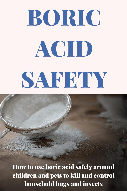 boric acid safety